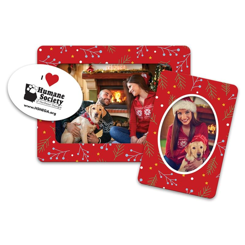 Holiday 3 Magnets in 1 Picture Frame