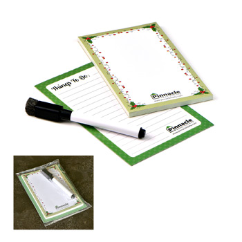 Note Pad and Memo Magnet Set
