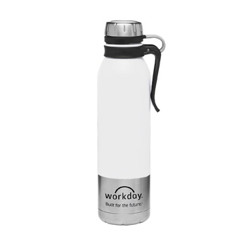 25oz Clip-On Stainless Steel Vacuum Bottle
